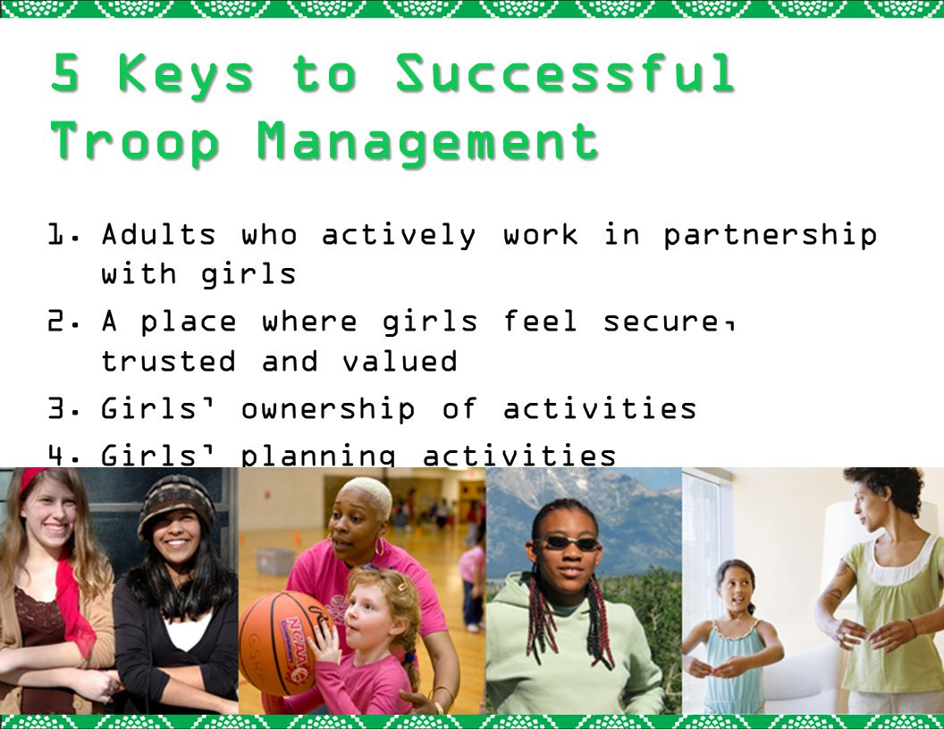 5 Keys to Successful Troop Management