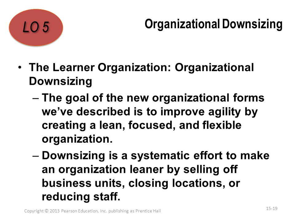 Organizational Downsizing