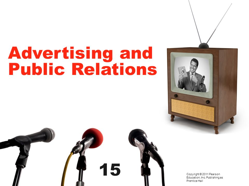 Advertising and Public Relations 15