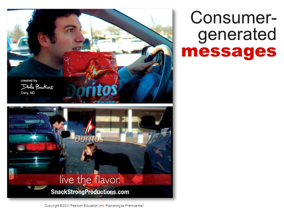 Consumer-generated messages