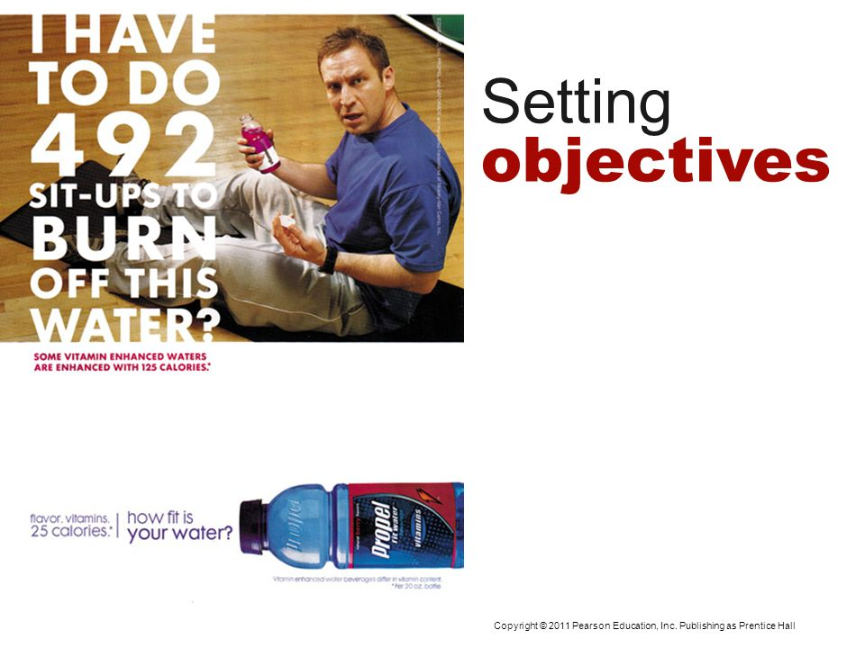 Setting objectives Setting Advertising Objectives
