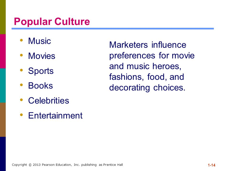 Popular Culture Music. Movies. Sports. Books. Celebrities. Entertainment.