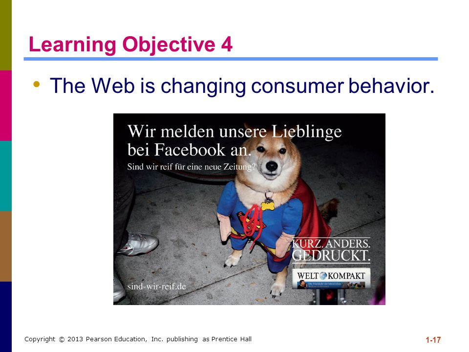 The Web is changing consumer behavior.