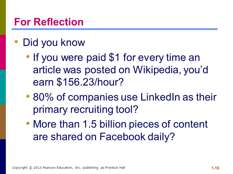 80% of companies use LinkedIn as their primary recruiting tool