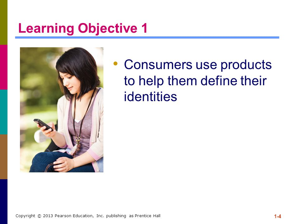 Consumers use products to help them define their identities