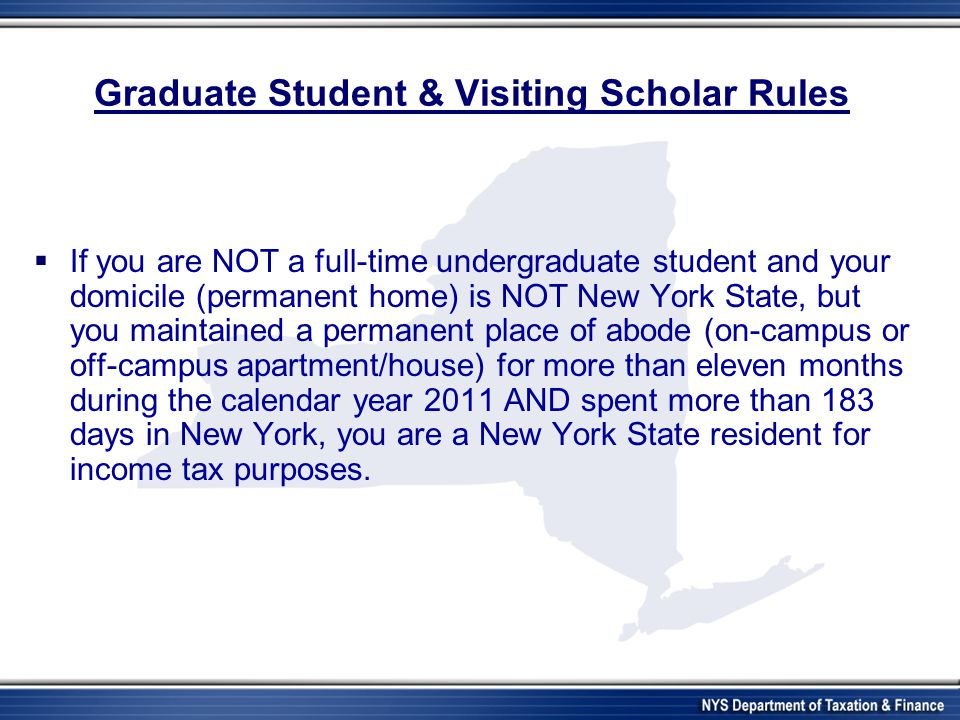 Graduate Student & Visiting Scholar Rules