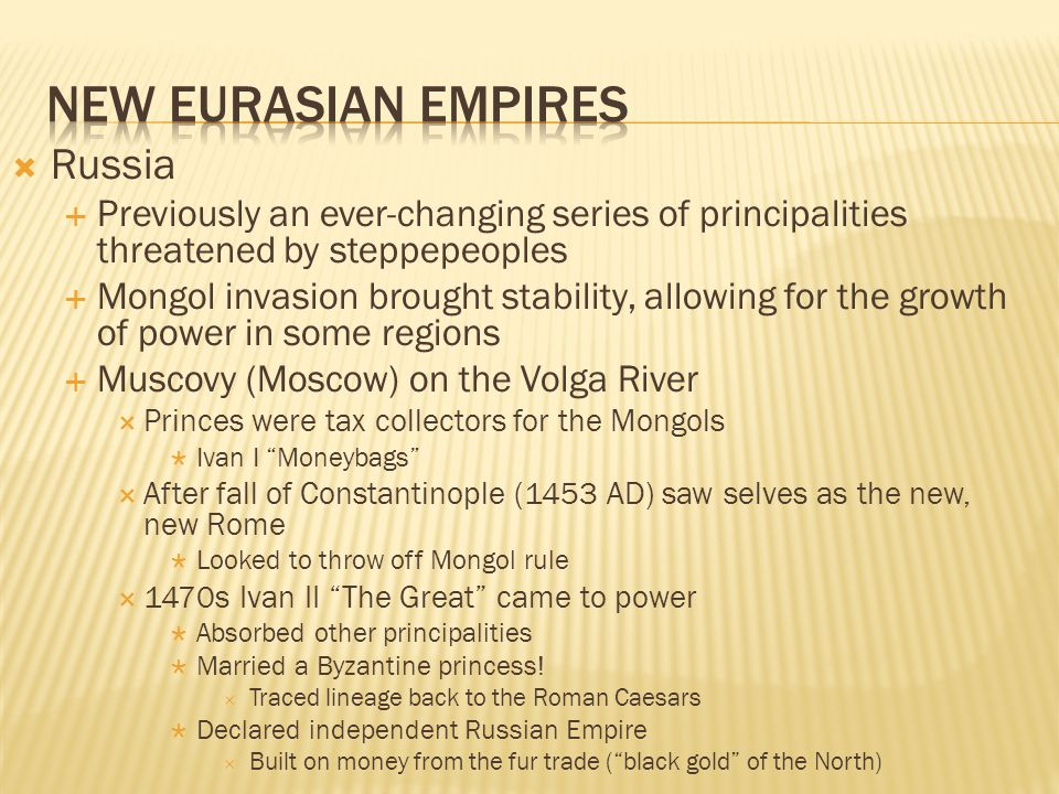 New Eurasian Empires Russia