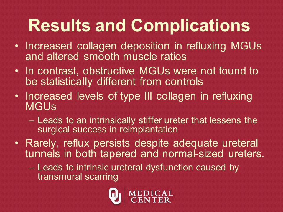 Results and Complications