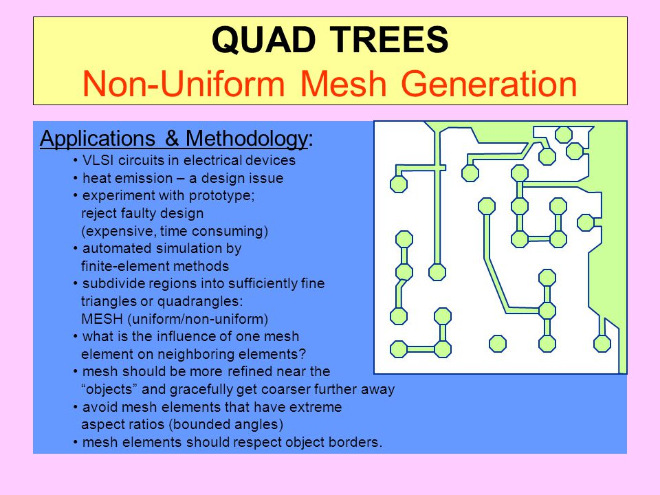 QUAD TREES Non-Uniform Mesh Generation
