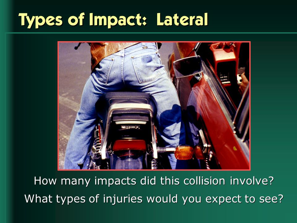 Types of Impact: Lateral