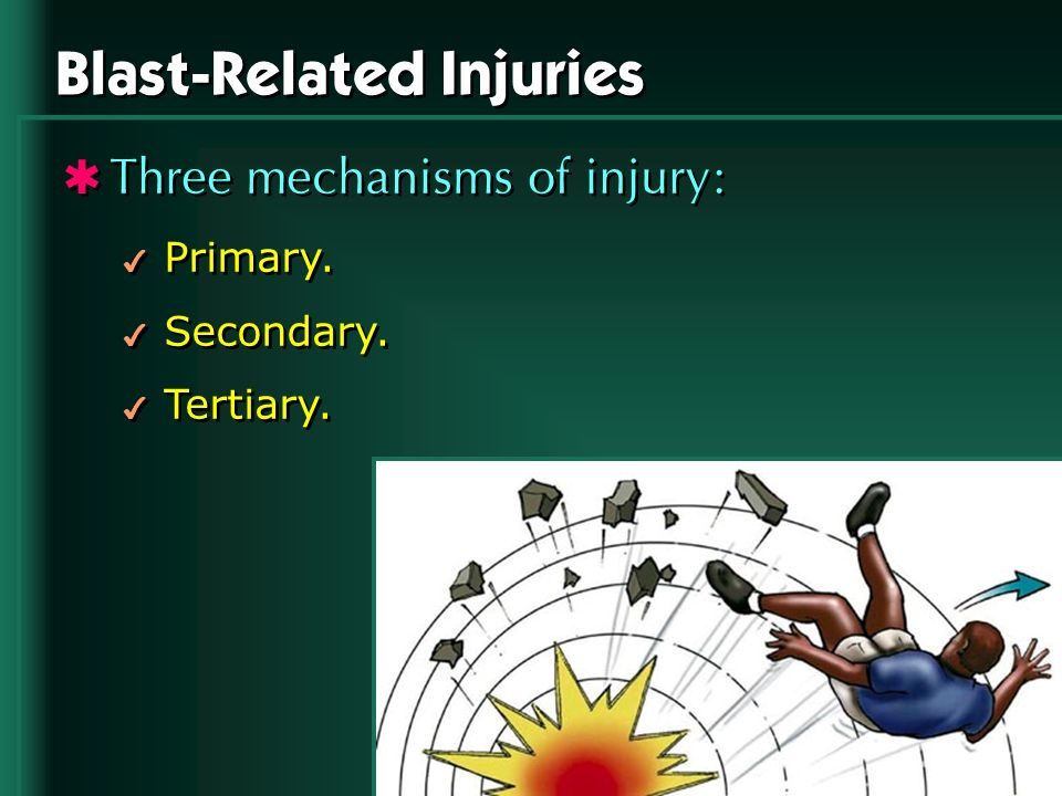 Blast-Related Injuries
