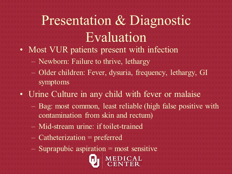 Presentation & Diagnostic Evaluation