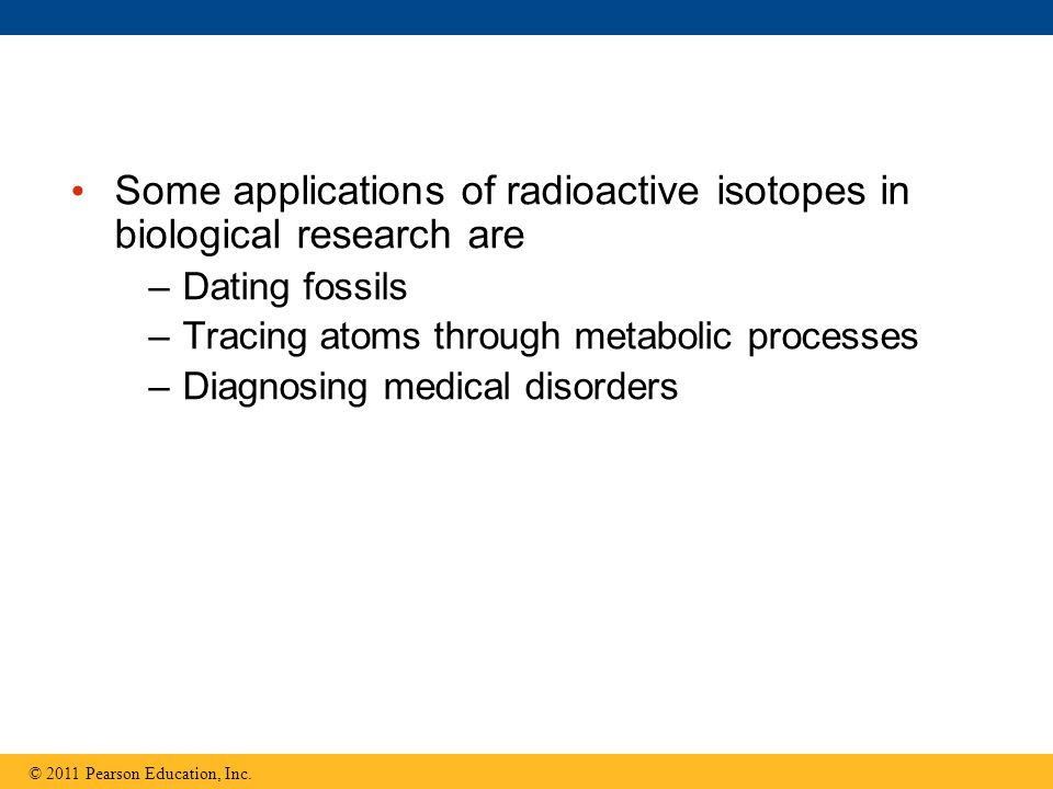 Some applications of radioactive isotopes in biological research are