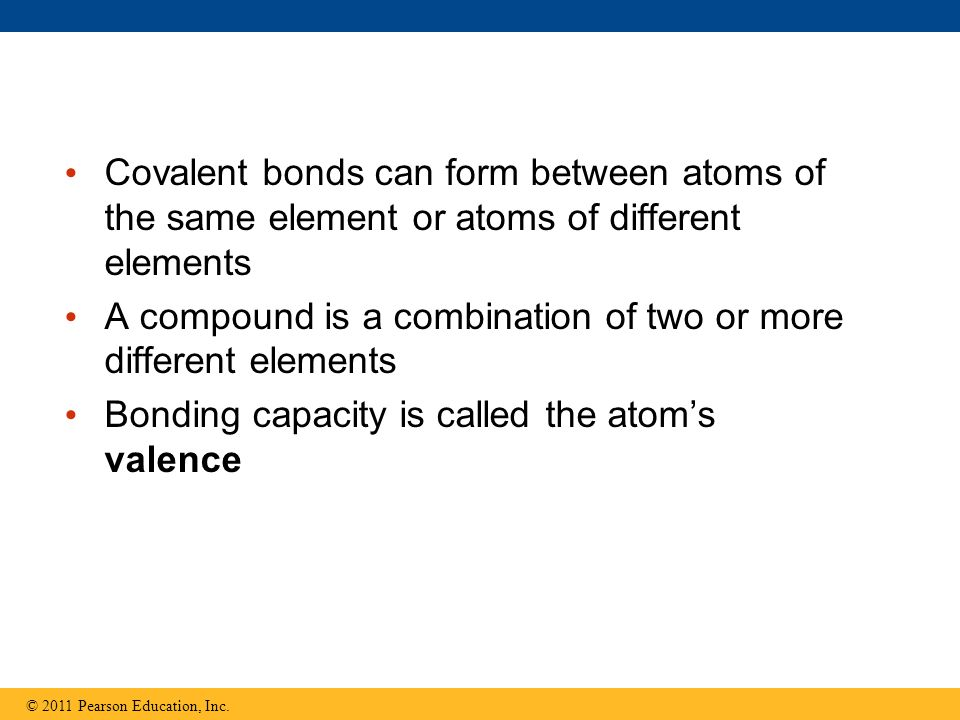 A compound is a combination of two or more different elements