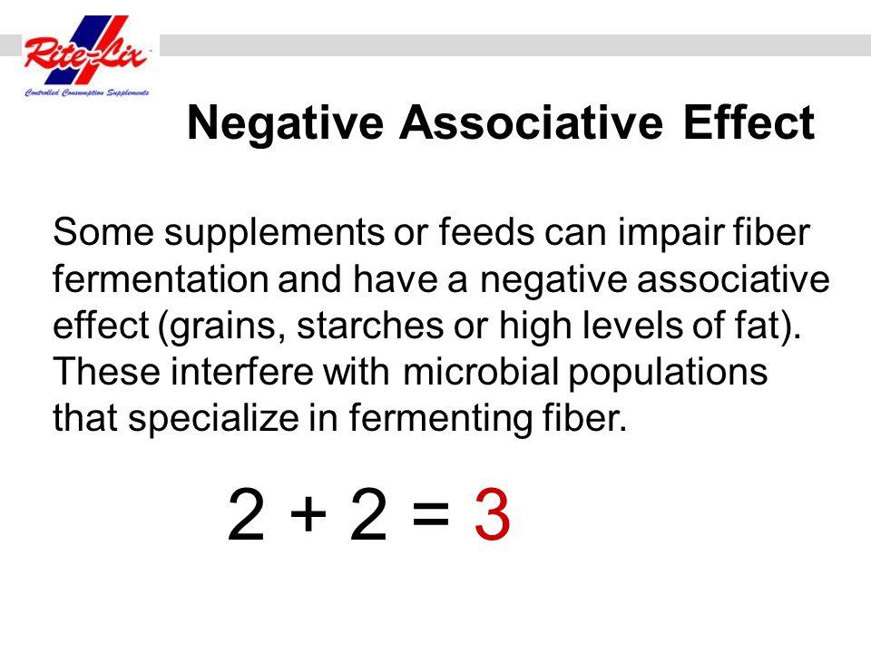 Negative Associative Effect