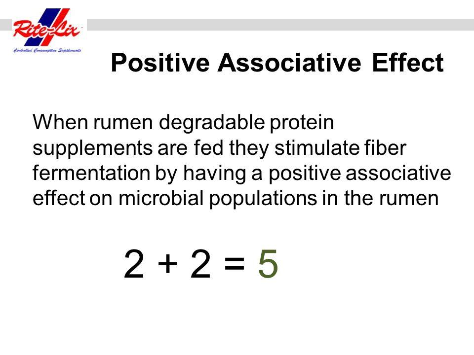 Positive Associative Effect