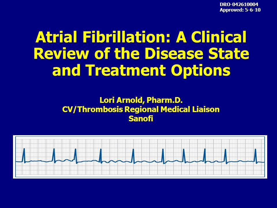 CV/Thrombosis Regional Medical Liaison
