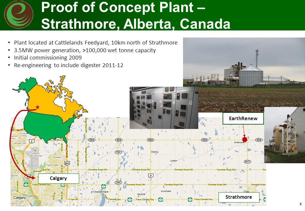 Proof of Concept Plant – Strathmore, Alberta, Canada