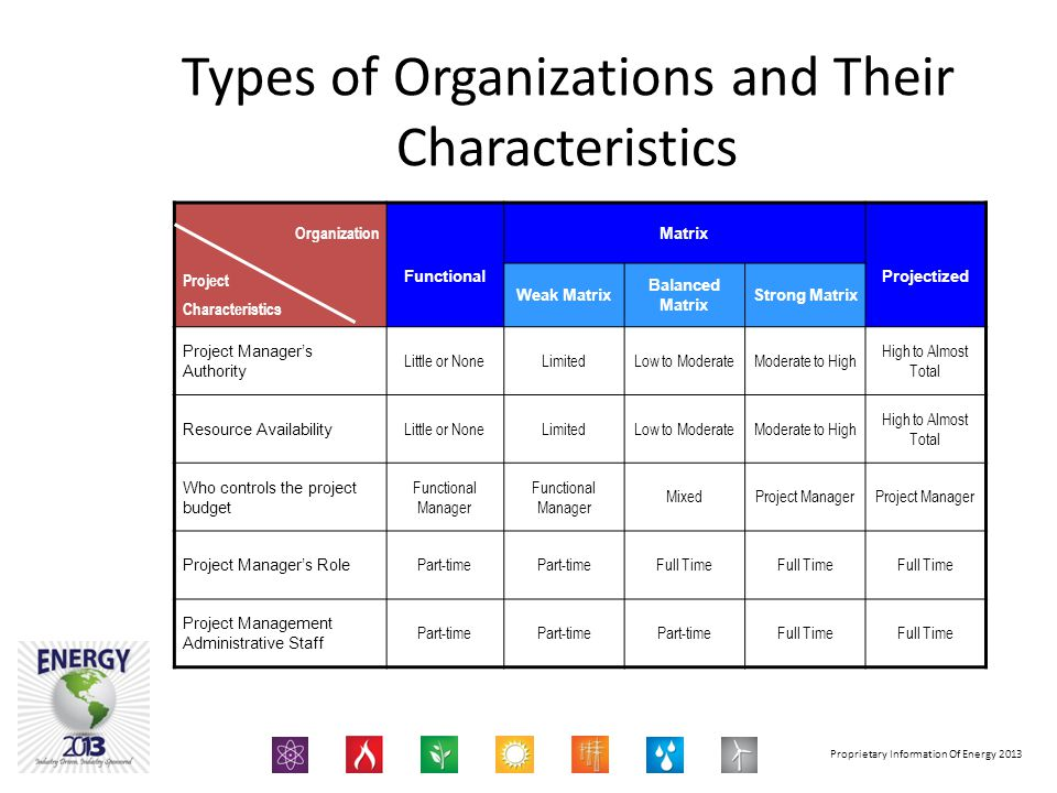 Types of Organizations and Their Characteristics