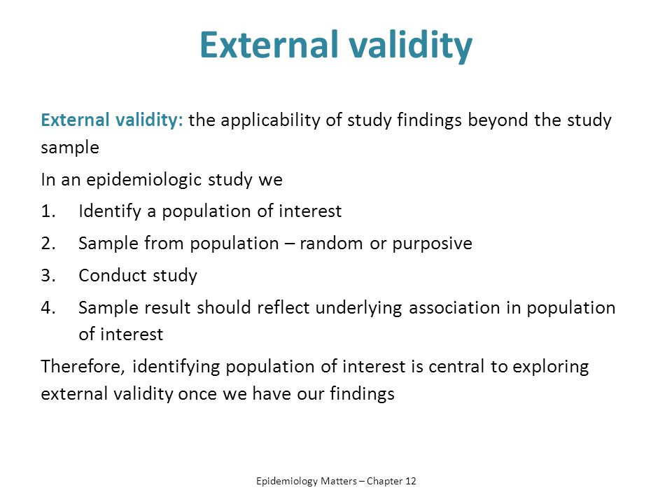 External validity - Wikipedia