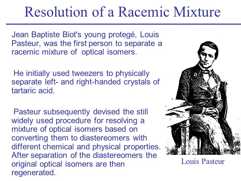 Resolution of a Racemic Mixture
