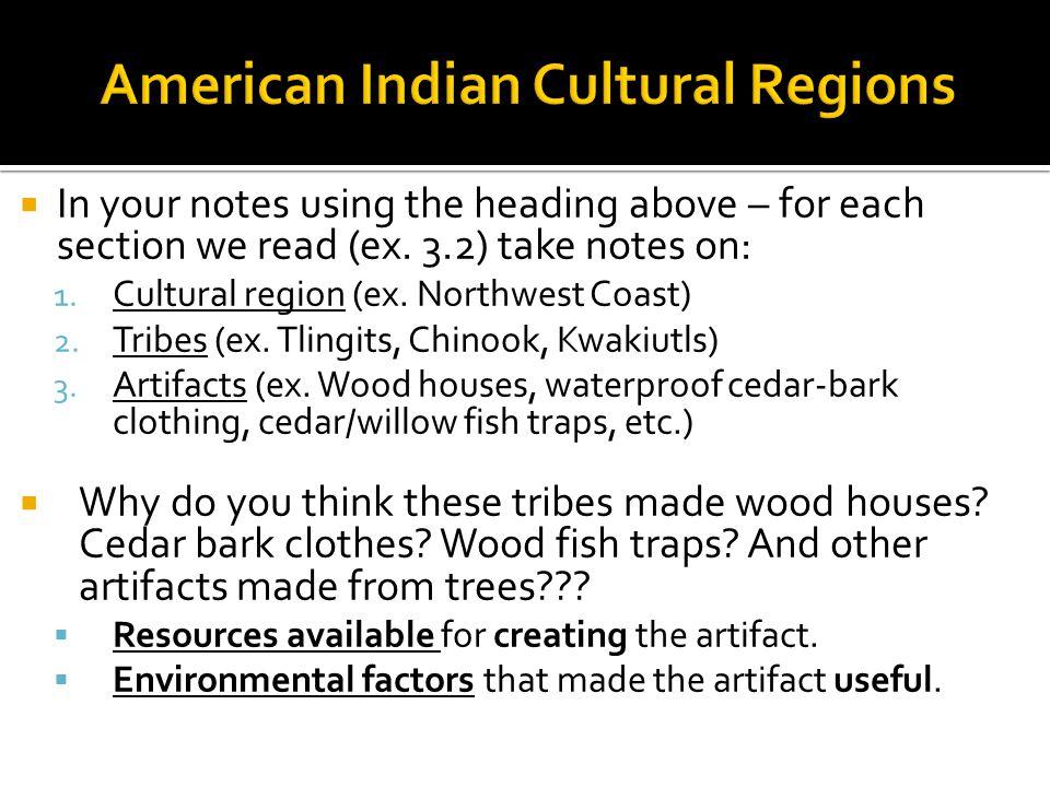 American Indian Cultural Regions