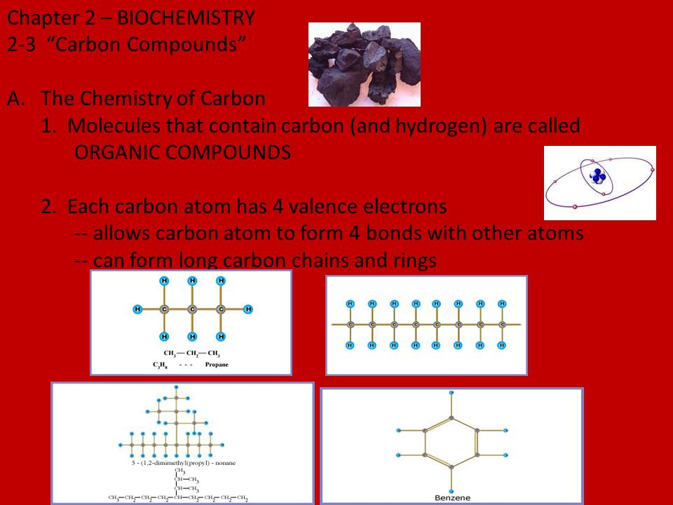 Chapter 2 – BIOCHEMISTRY