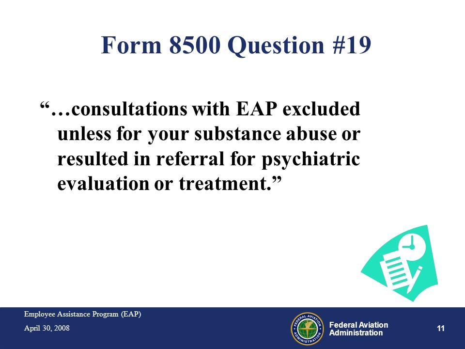 Form 8500 Question #19