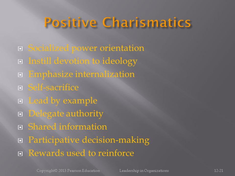 Positive Charismatics