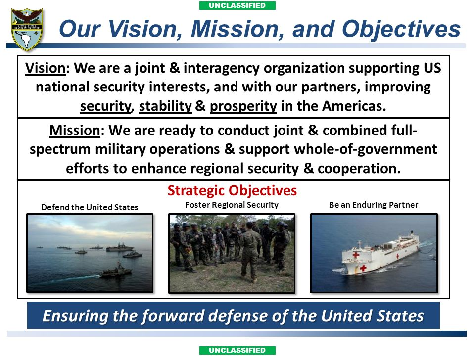 Our Vision, Mission, and Objectives