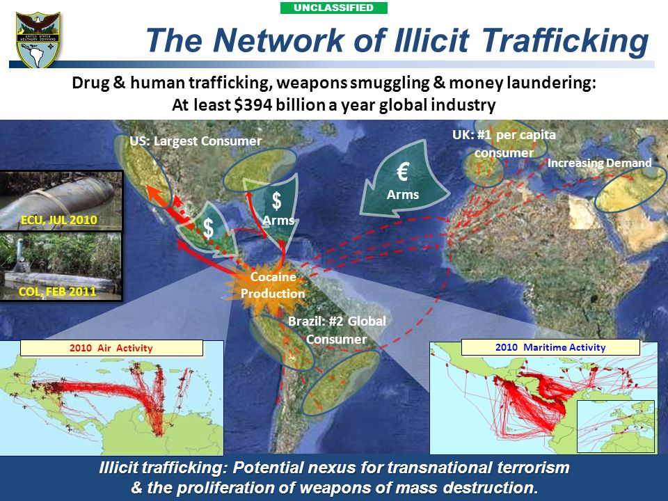 The Network of Illicit Trafficking