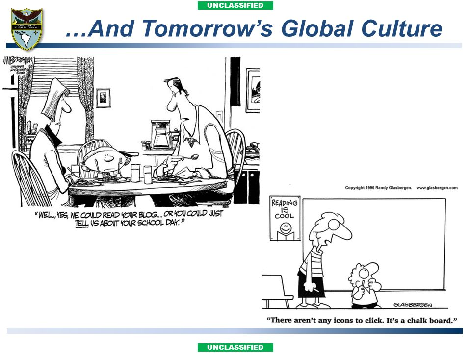 …And Tomorrow's Global Culture