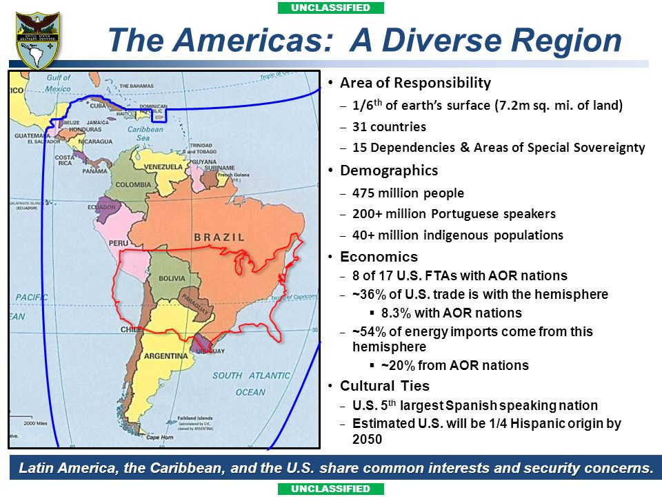 The Americas: A Diverse Region
