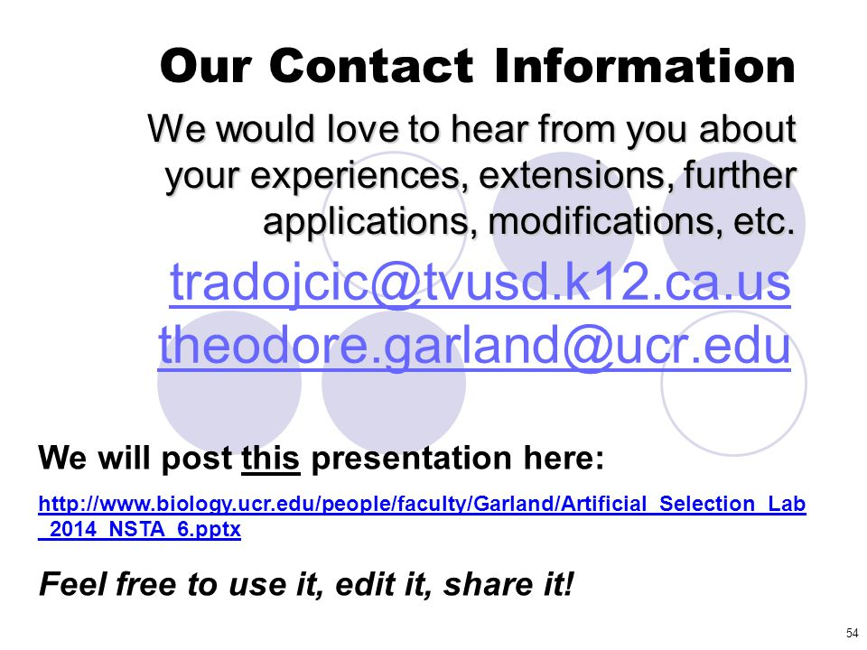tradojcic@tvusd.k12.ca.us theodore.garland@ucr.edu