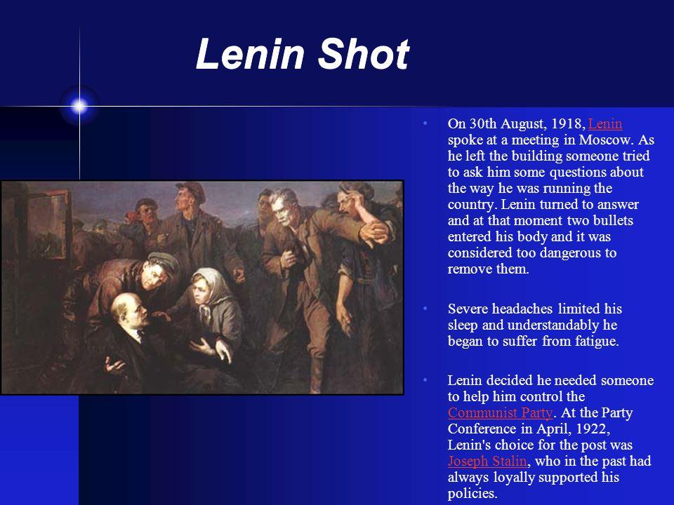 Lenin Shot