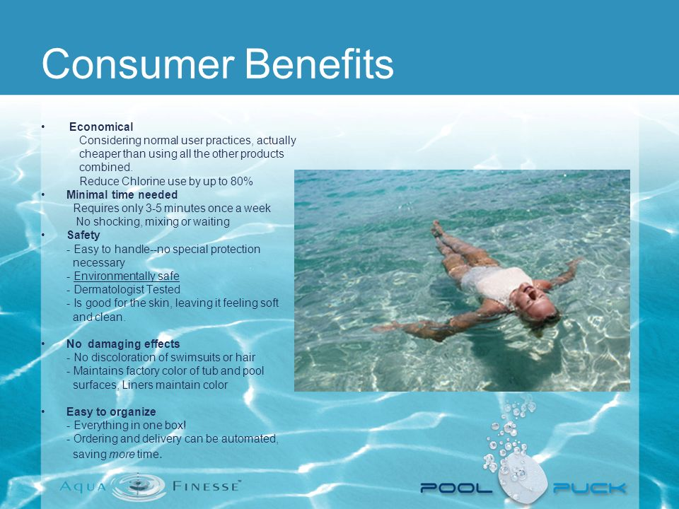 Consumer Benefits Economical