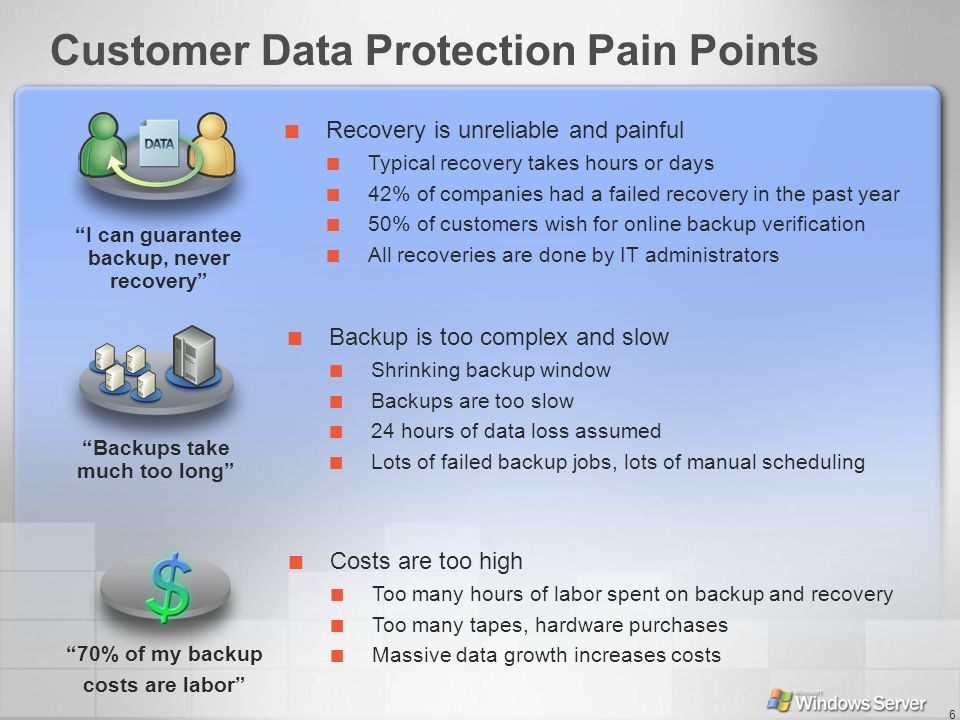 Customer Data Protection Pain Points