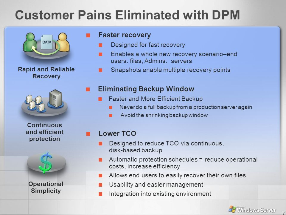 Customer Pains Eliminated with DPM