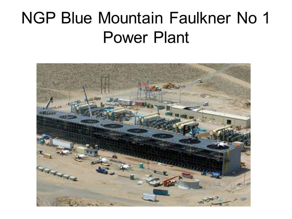 NGP Blue Mountain Faulkner No 1 Power Plant