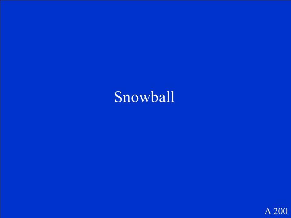 Snowball A 200