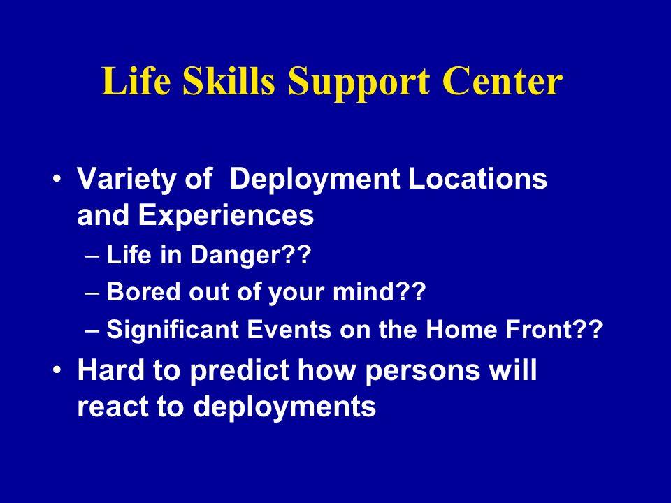 Life Skills Support Center