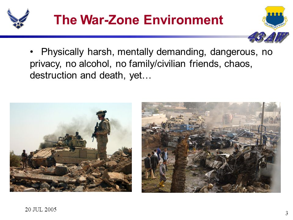 The War-Zone Environment