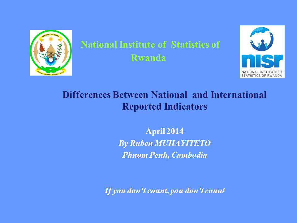 National Institute of Statistics of Rwanda
