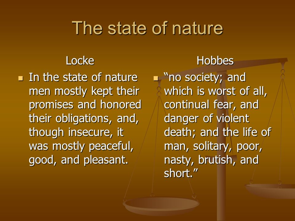 John Locke S State Of Nature Definition