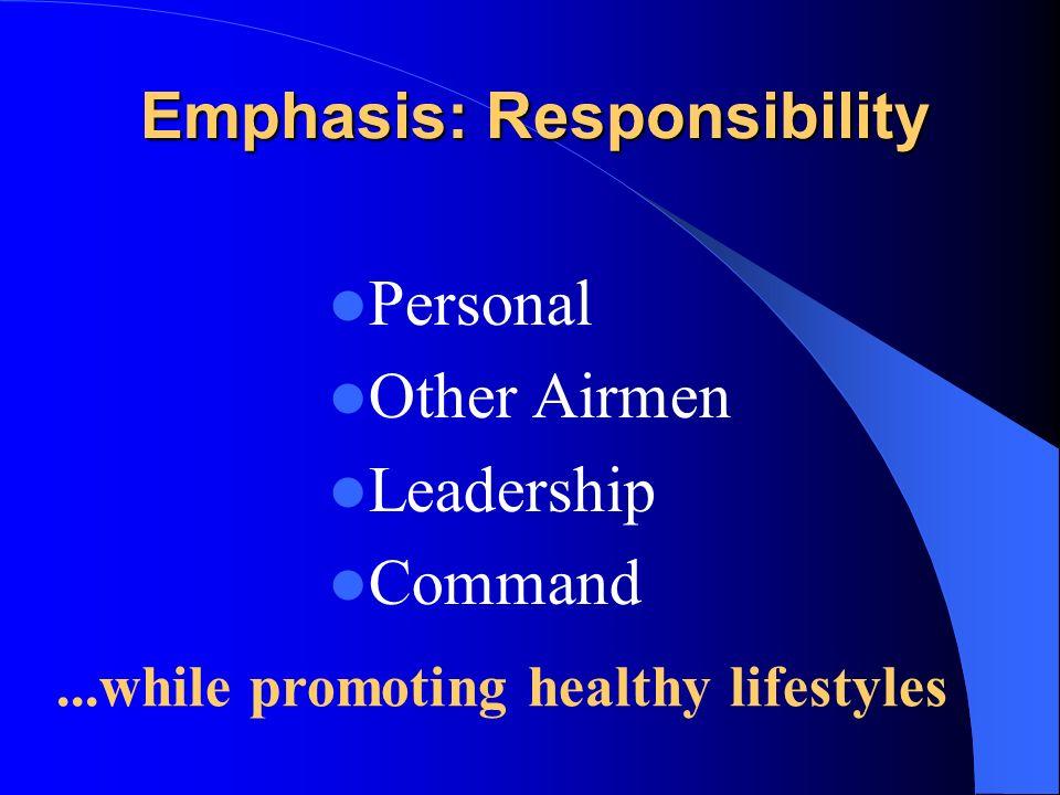 Emphasis: Responsibility