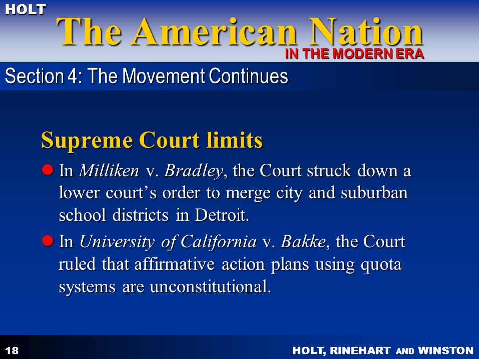 Supreme Court limits Section 4: The Movement Continues