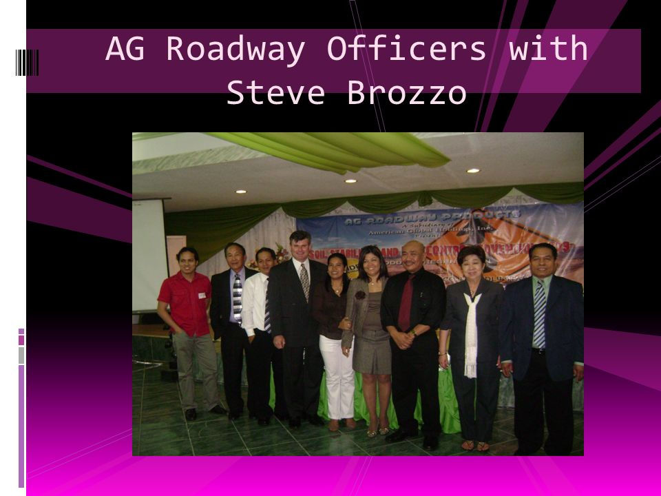 AG Roadway Officers with Steve Brozzo
