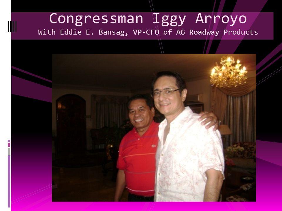 Congressman Iggy Arroyo With Eddie E