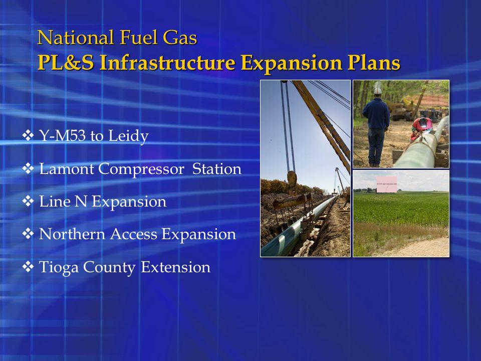 National Fuel Gas PL&S Infrastructure Expansion Plans