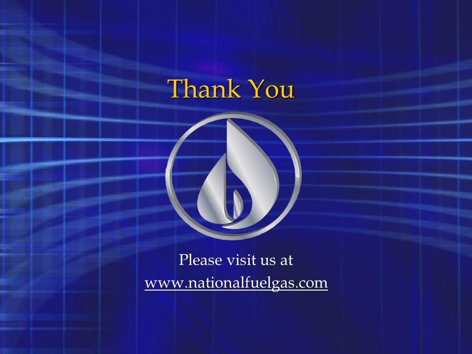 Please visit us at www.nationalfuelgas.com